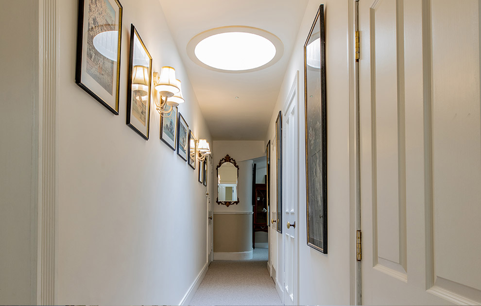 Riddell House Upstairs Hallway